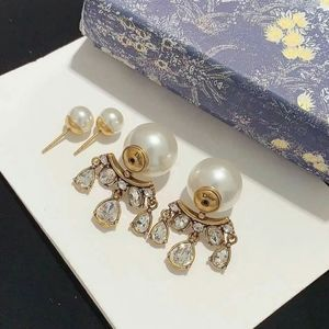 DIOR Tribales Antique Gold-Finish Metal Earrings